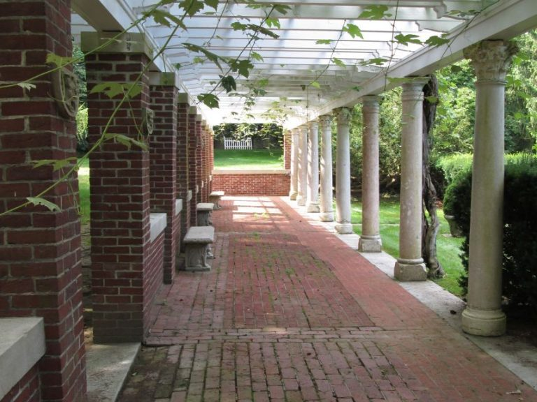 Grape Arbor in the Formal Garden
